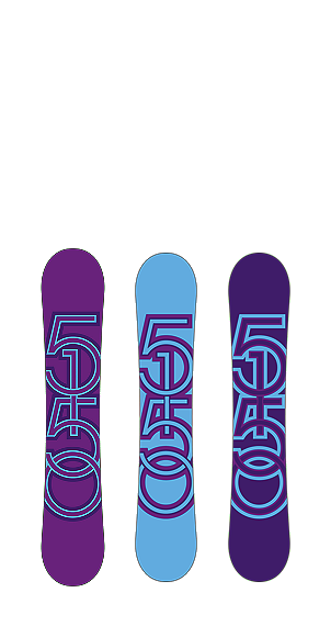 5150 Sienna Snowboard Bases