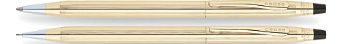 Classic Century 10 Karat Gold Filled/Rolled Gold Pen and Pencil Set