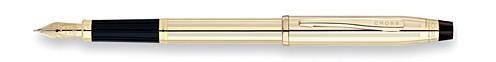 Century II Laminado en Oro de 10 Kts. Pluma Estilográfica