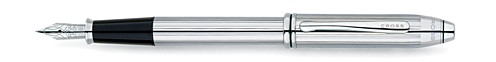 Townsend Polished Chrome Fountain Pen Gift Set