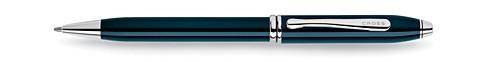 Townsend Quartz Blue Lacquer Ballpoint Pen