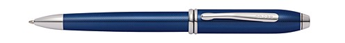 Townsend Polished Blue Quartz Lacquer Ballpoint
