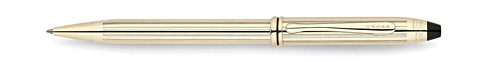 Townsend 10 Karat Gold Filled/Rolled Gold Ballpoint Pen