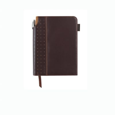 Signature Medium Journals are a stylish evolution. Each journal features a cleverly integrated pen sleeve that's ideal for storing the complimentary pens, plus ribbon page marker, expandable inner pocket and acid-free paper with perforations to more easil