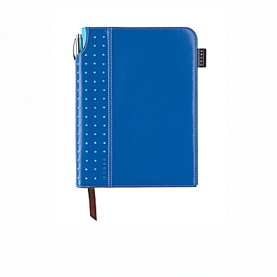 Blue Medium Signature Journal with Pe