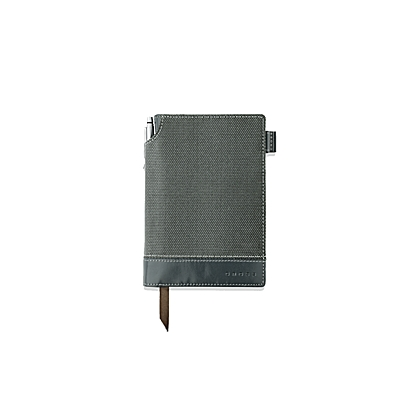 Small A6 Textured Grey Journal