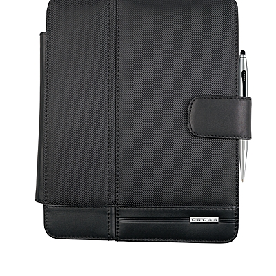 iPad Case with Chrome Tech2<br /> Dual-Function Stylus Pen