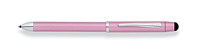 Tech 3+ Frosty Pink Multi-Function Pen