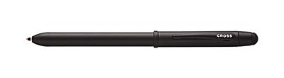 Tech3<br /><br /> All-Satin Black Multi-Function Pen