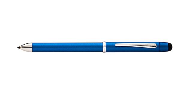 Tech3+ Metallic Blue Multi-Function Pen