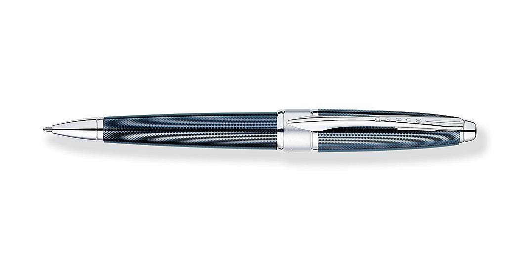 Apogee Frosty Steel Ballpoint Pen