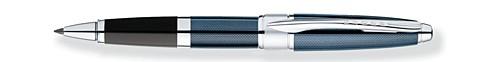 Apogee Frosty Steel Rollerball Pen