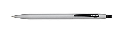 Click<br /> Pure Satin Chrome Gel Ink Pen