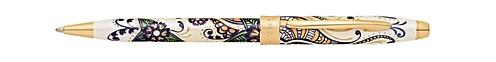 Botanica Golden Magnolia Ballpoint Pen