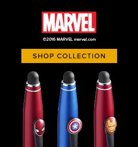 Marvel Pens for your Super Hero