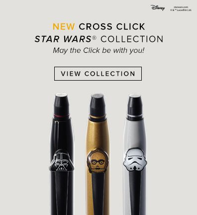 New Cross Click Star Wars Collection
