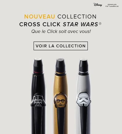 Nouveau Collection Cross Click Star Wars