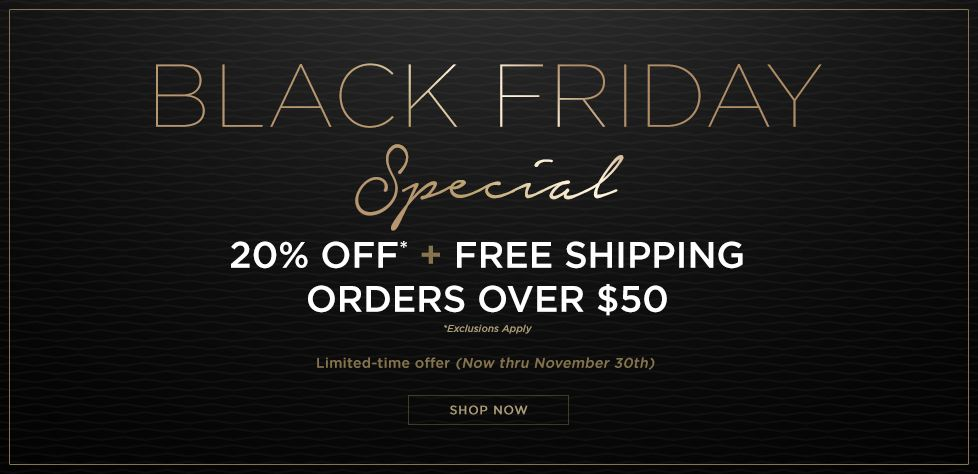 Black Friday Special