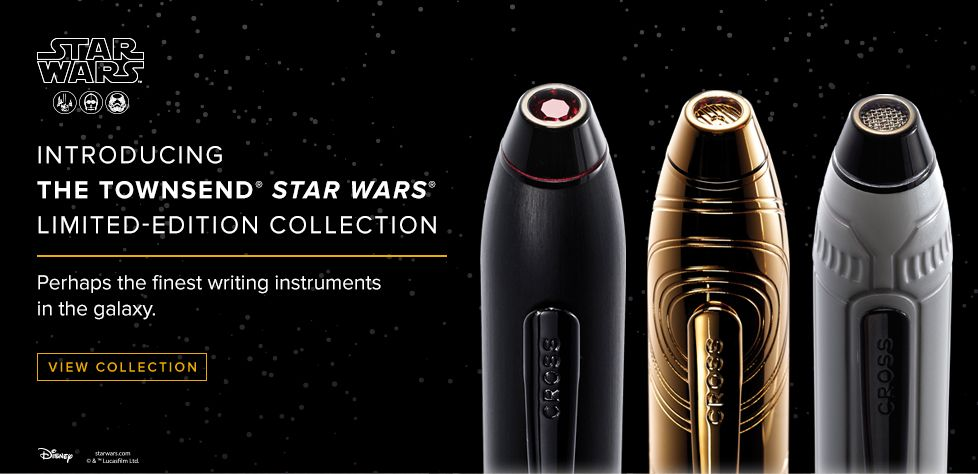 Introducing The Townsend Star Wars Limited-Edition Collection