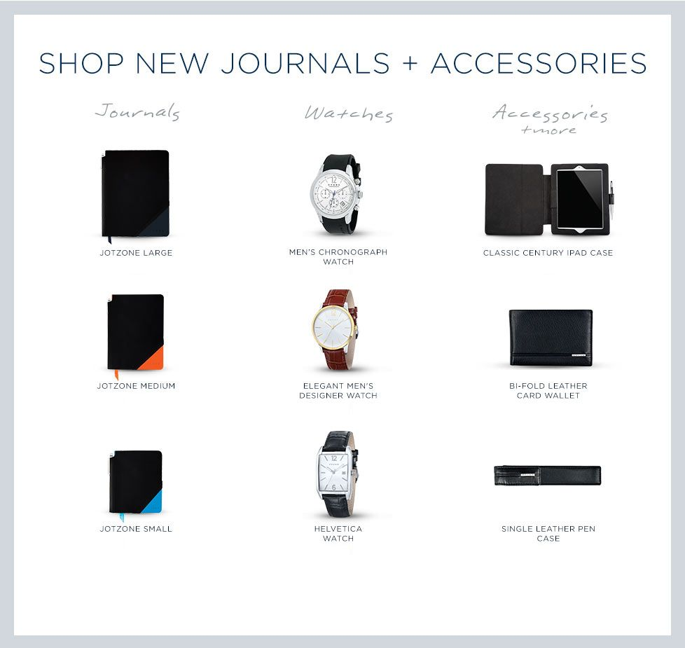 Shop New Journals and Accessories