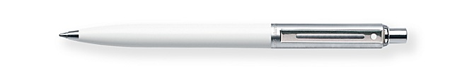 Sheaffer Sentinel White Ballpoint Pen
