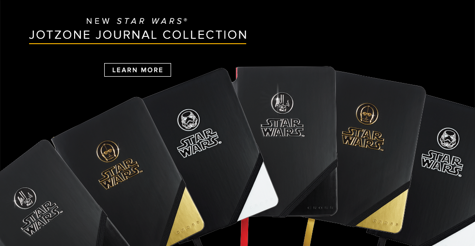 Cross Star Wars Jotzone Journal Collection