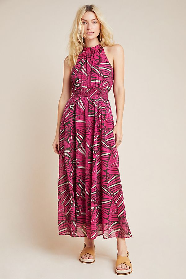 Kelliann Halter Maxi Dress   Anthropologie