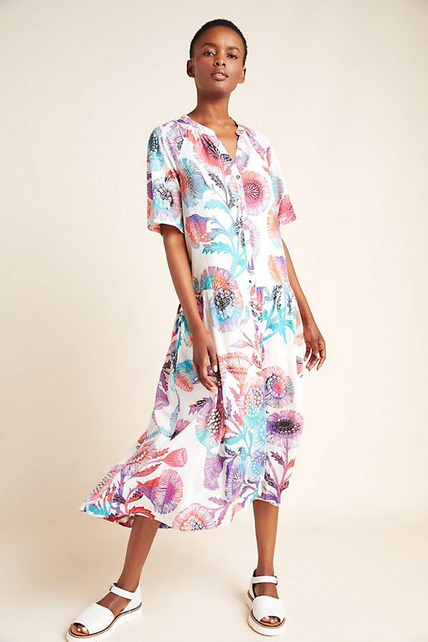 Azores Maxi Dress | Anthropologie