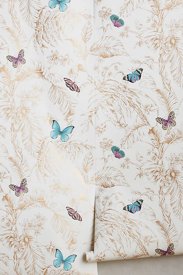 Slide View: 1: Papillon Wallpaper