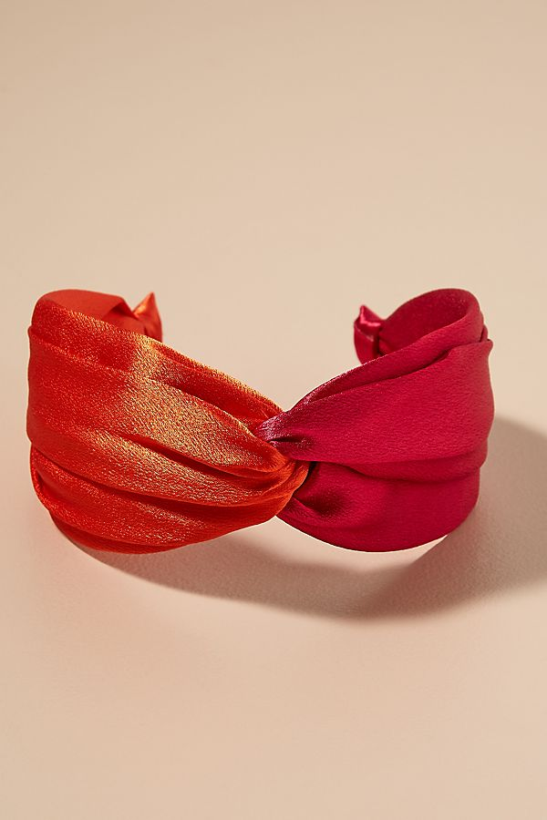 Colourblocked Twisted-Top Headband | Anthropologie UK