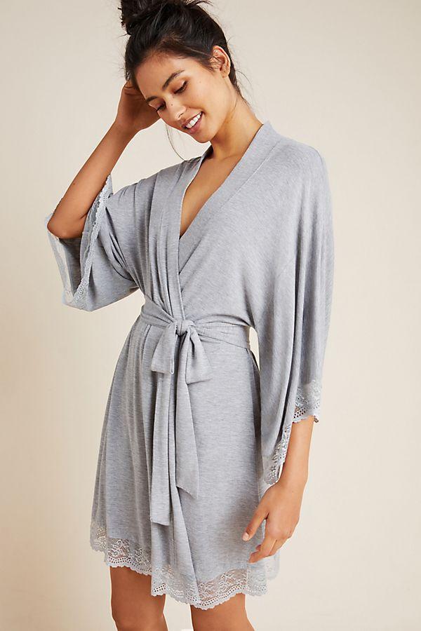 Slide View: 1: Eberjey Colette Kimono Robe
