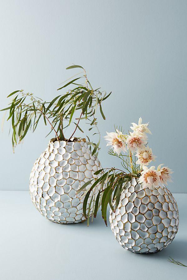Slide View: 1: Honeycomb Vase