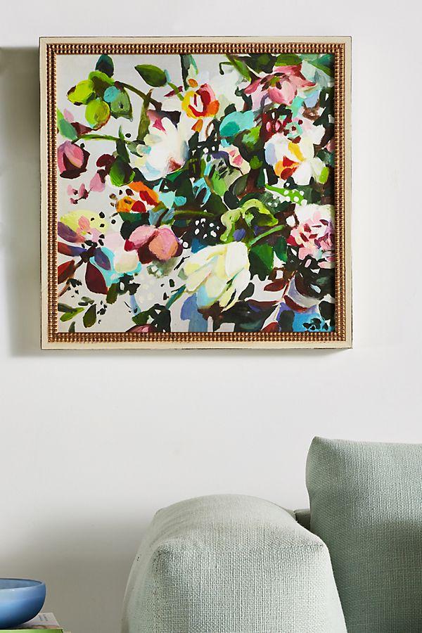 Slide View: 1: Flower Garden Wall Art