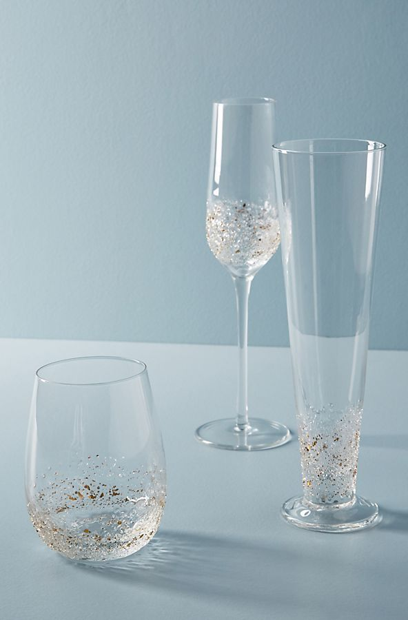 Slide View: 3: Volcania Stemless Wine Glasses, Set of 4