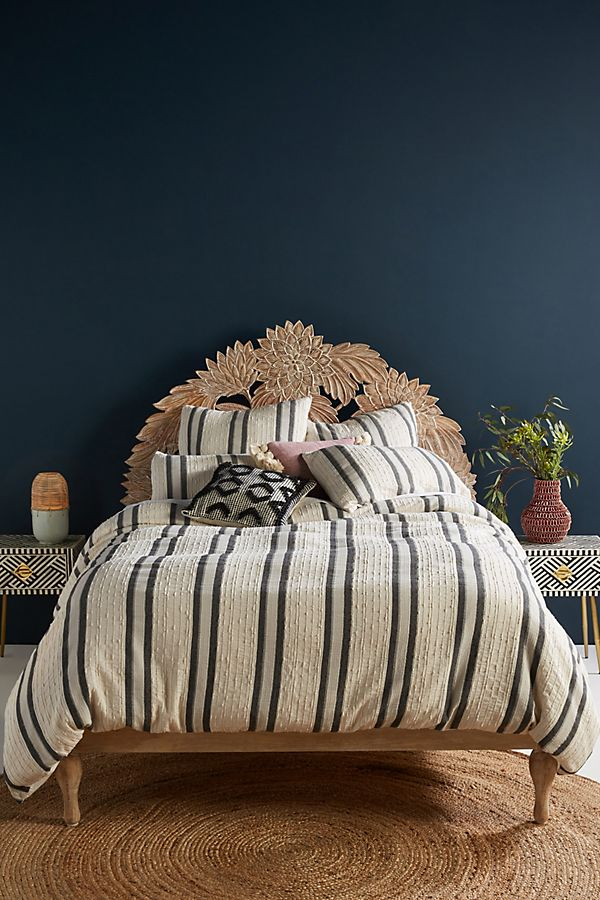 Slide View: 1: Woven Oliver Duvet Cover
