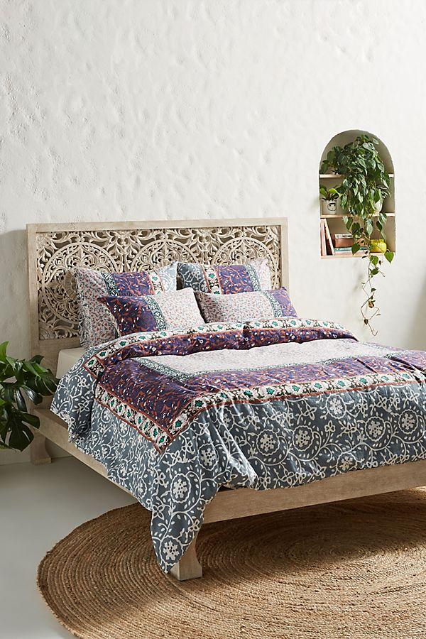 Slide View: 1: Sienna Duvet Cover