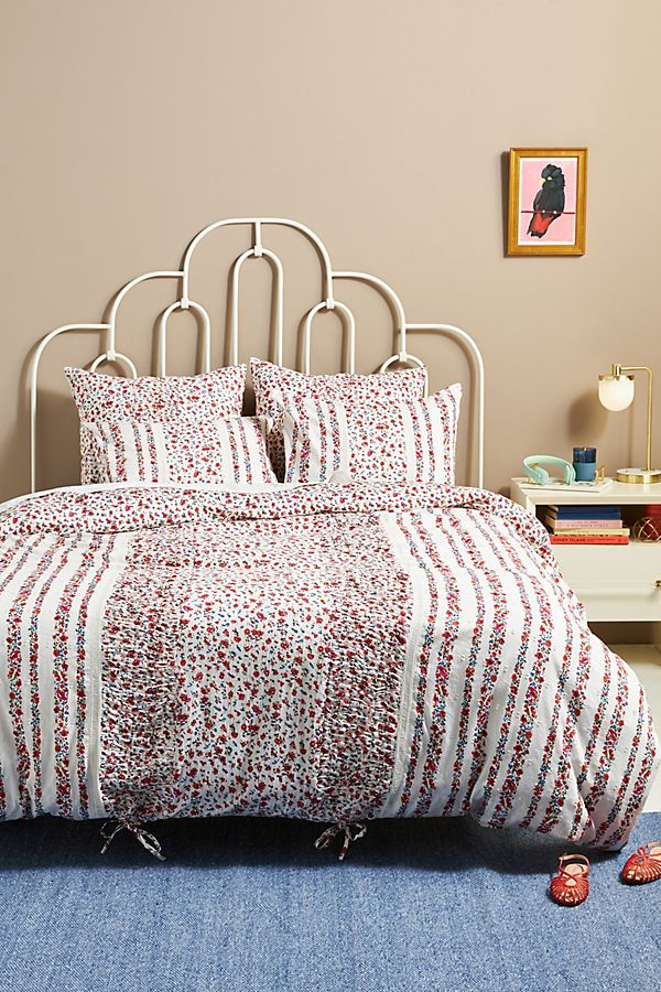 Slide View: 2: Embellished Sweet Pea Euro Sham
