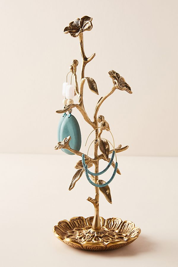 Slide View: 1: Gardenia Jewelry Stand