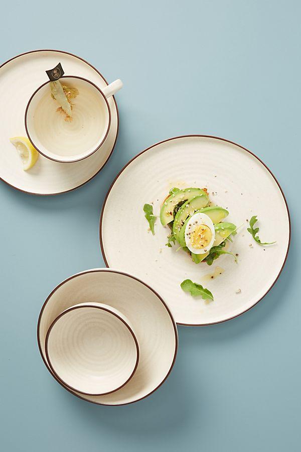Slide View: 1: Ilana Matte Dinner Plates, Set of 4
