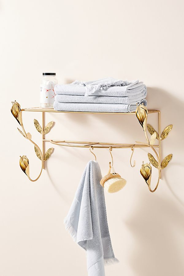 Slide View: 1: Lily Wall Mounted Hanging Rack