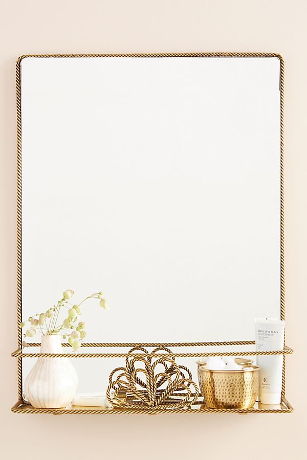 Slide View: 1: Francis Shelved Mirror