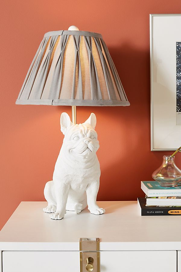 Slide View: 1: Frank the Frenchie Table Lamp