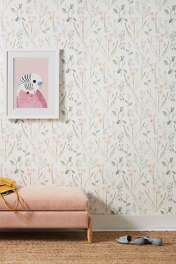 Alpine Botanical Wallpaper | Anthropologie