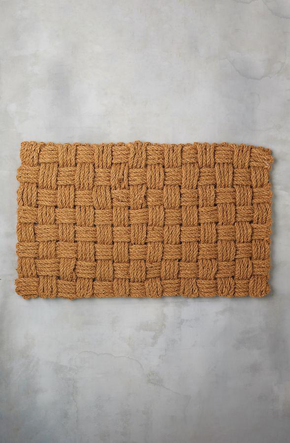 Slide View: 1: Basket Weave Doormat