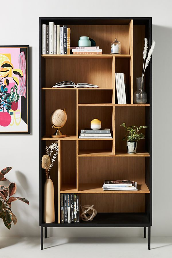 Oak Blackbird Bookshelf | Anthropologie