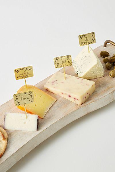 Herbiflora Cheese Markers, Set of 6 #1