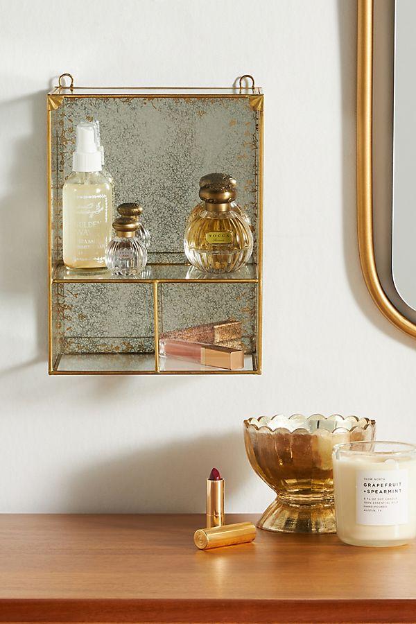 Slide View: 1: Matilda Mirrored Cabinet