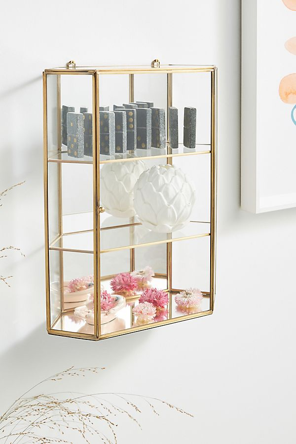Slide View: 1: Claire Glass Cabinet