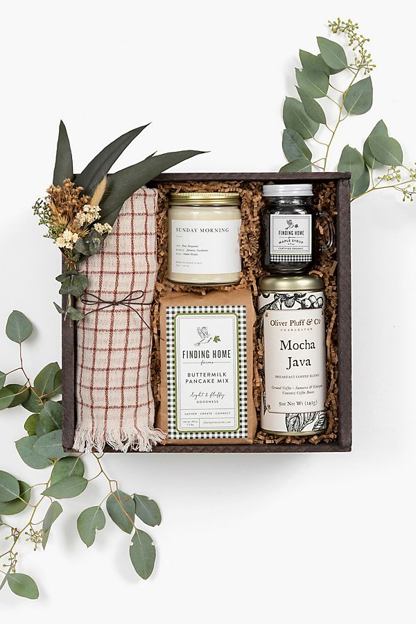 Slide View: 1: Loved and Found Sunday Morning Curated Gift Box