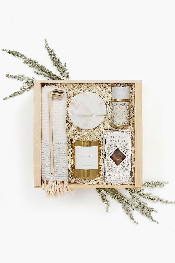Slide View: 1: Loved and Found Winter White Curated Gift Box